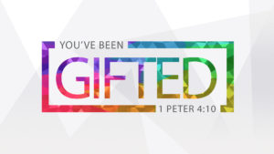 You've Been Gifted Title Slide